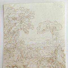 Vista de Nápoles desde la villa del Sr. Haygelin