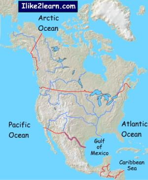 Lakes of North America. Ilike2learn