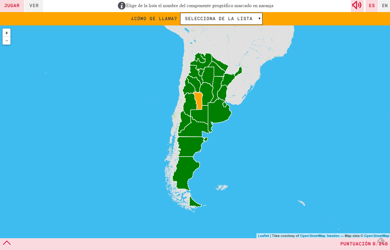 Argentinar-probintziak