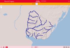 Die flüsse von Uruguay