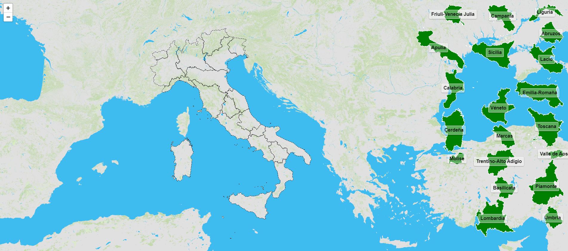 Regiões da Itália