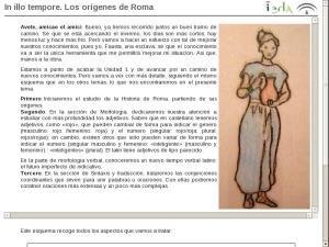 El origen del Latín y sus características:  In illo tempore. Los orígenes de Roma
