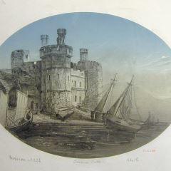 Castillo de Caernarfon (Gales)