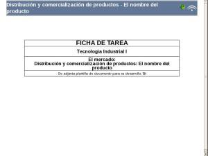Distribución y comercialización de productos - El nombre del producto