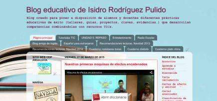 Blog educativo de Isidro Rodríguez Pulido