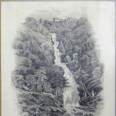 Vista de una cascada