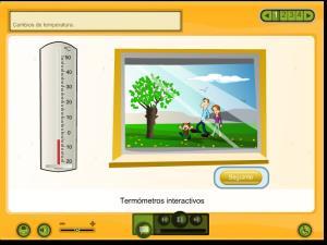 Cambios de temperatura