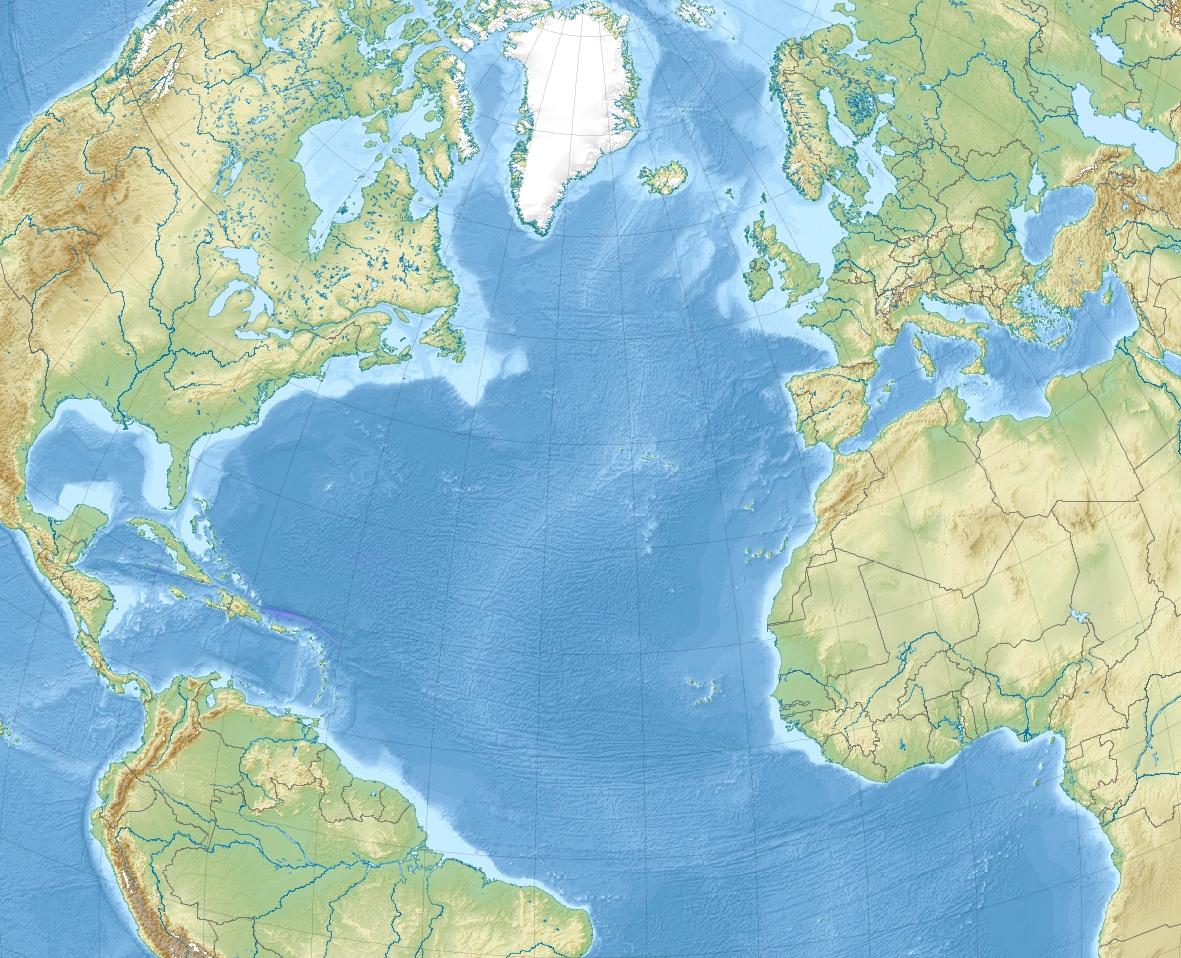 Europa. El Océano Atlántico