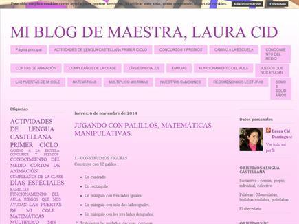MI BLOG DE MAESTRA, LAURA CID