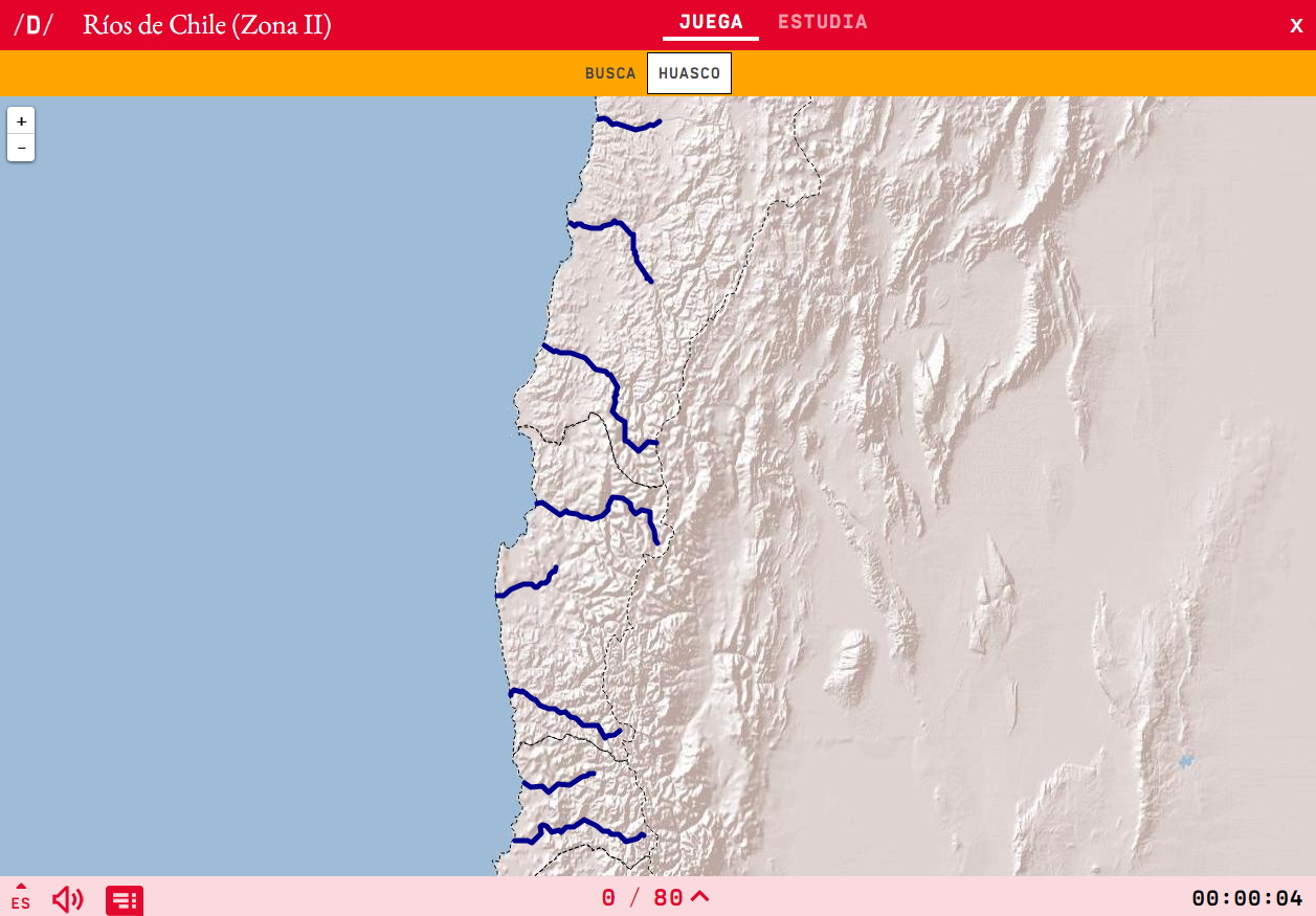 Txileko ibaiak ( Zona II)