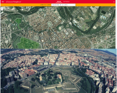 Historical places of the city of Pamplona