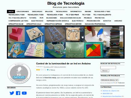 Blog de Tecnología. Recursos para Secundaria.
