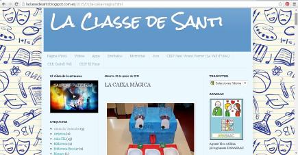 La classe de Santi