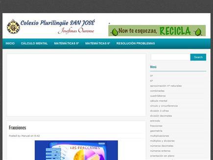 Blog Matemáticas Josefinas