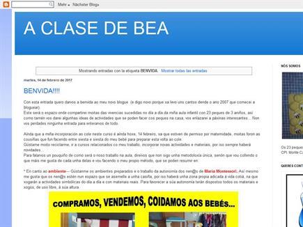 A CLASE DE BEA