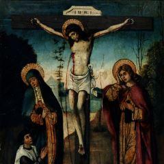 Crucifixión con donante