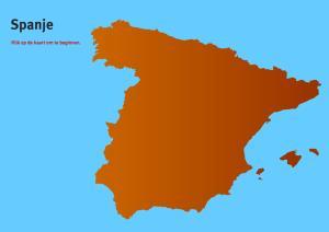 Spanje. Topo VMBO