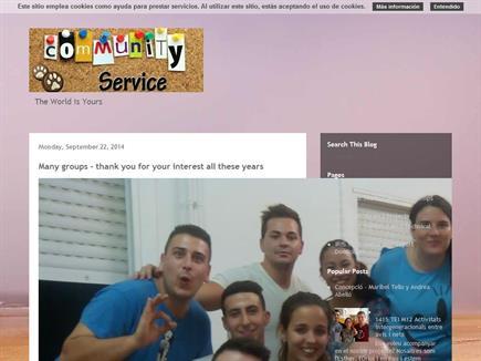 Community Service - Serveis a la Comunitat
