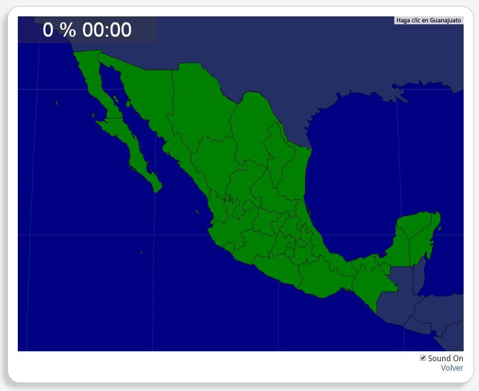 Mexiko: Staaten. Seterra