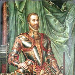 Retrato de hombre vestido a la moda del siglo XVI
