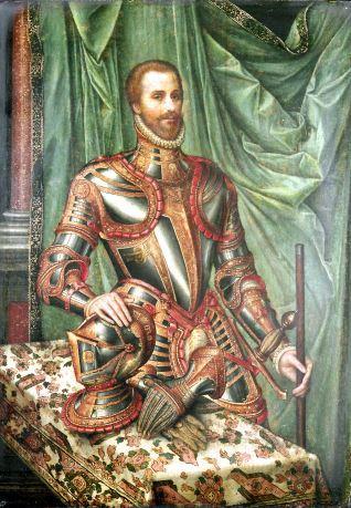 d99e016fe Retrato de hombre vestido a la moda del siglo XVI - Mis Museos