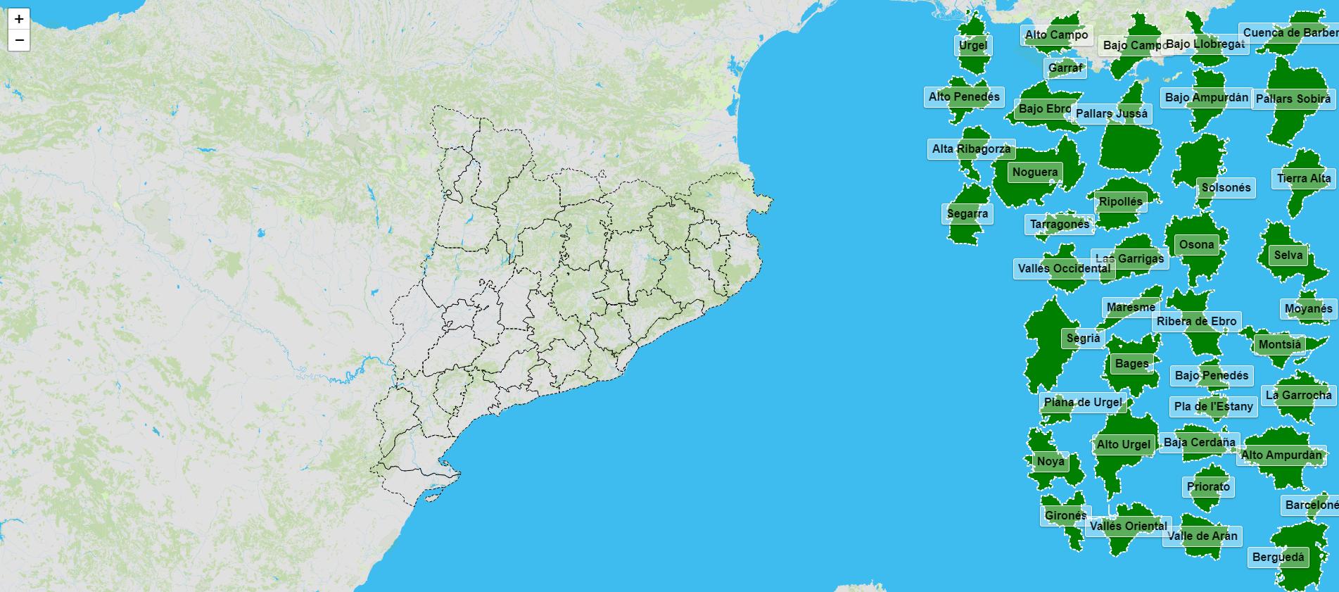 Regioni della Catalogna