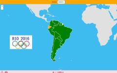 12 Deportistas olímpicos de países de América del Sur (Río 2016)