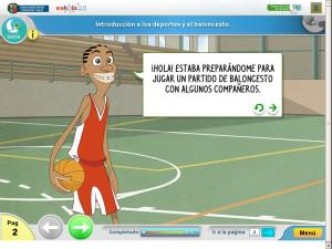 Longitud: Campeonato de baloncesto de la clase