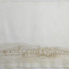 Vista de la ciudad de Coblenza (Alemania)