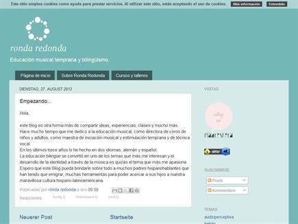 Ronda redonda - Educación musical temprana y bilingüismo