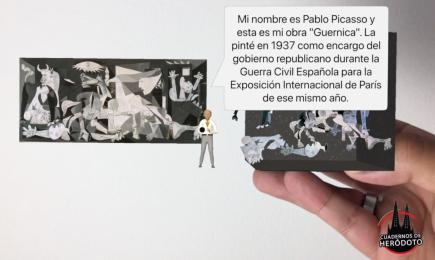 Dioramas virtuales, la Historia del Arte a través de Merge Cube