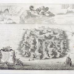 Vista de la Isla de Santa Elena