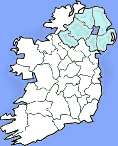 Counties of Ireland. Sporcle