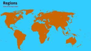Regions of the World. World Geography Games