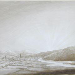 Vista de la ciudad de Perth (Escocia)