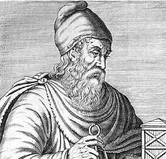 Grabado de Arquímedes