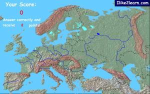 Mountain ranges of Europe. Ilike2learn