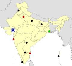 India cities map  (JetPunk)