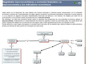 Magnitudes macroeconómicas y economía financiera: La macroeconomía y los indicadores económicos