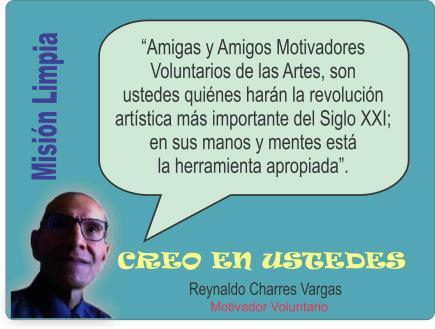 MOTIVADORES VOLUNTARIOS DE LAS ARTES