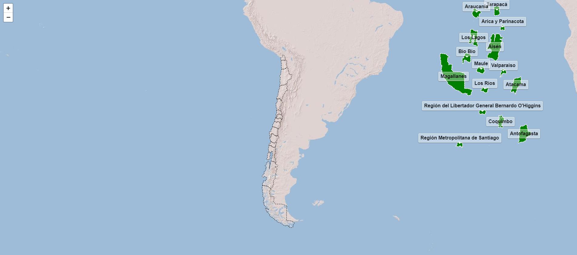 Regioni del Cile