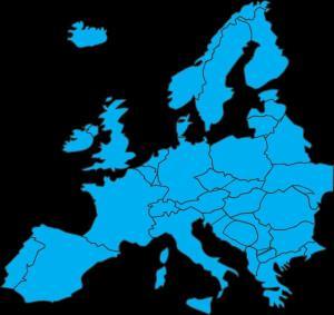 Europa. Toponimía Histórica