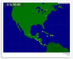 América del Norte y Central: Ciudades. Seterra