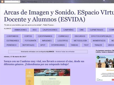 Arcas de Imagen y Sonido. ESpacio VIrtual de Docente y Alumnos (ESVIDA)