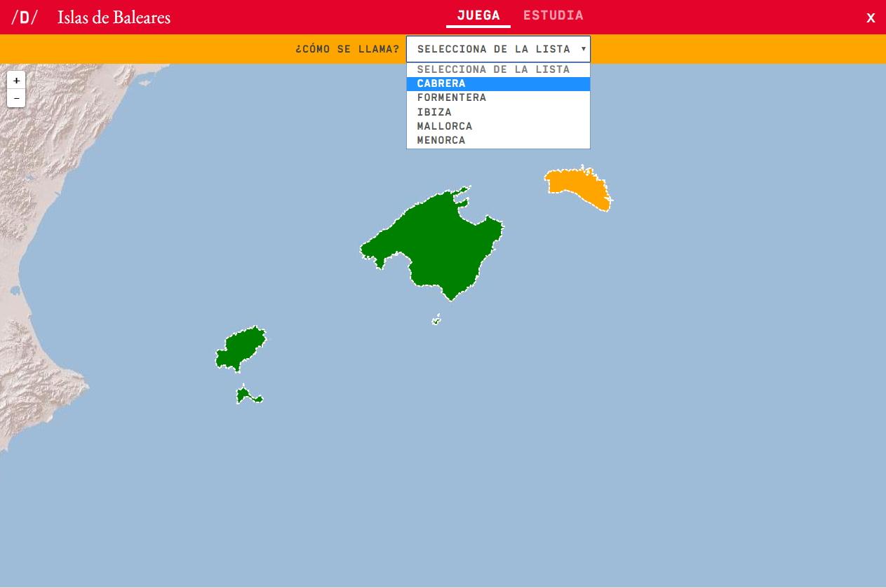 Inseln der Balearen