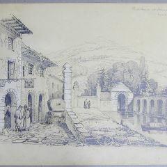 Estafeta de correos en Arano (Italia)