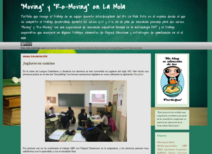 """Moving"" y ""Re-Moving"" en La Mola"