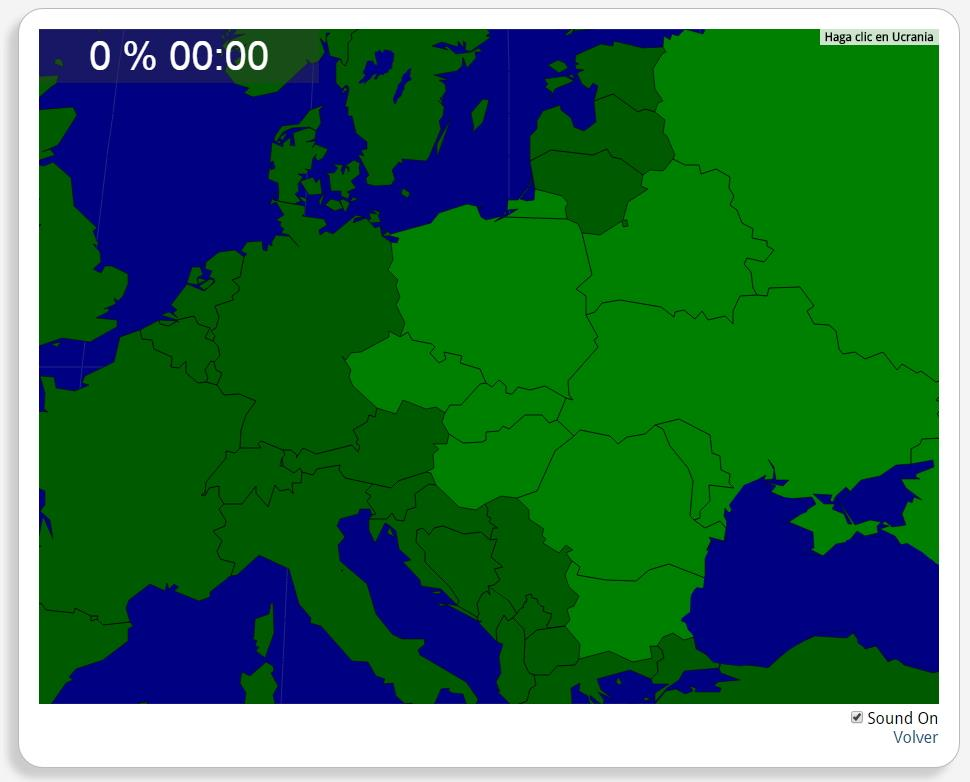 Osteuropa: Länder. Seterra