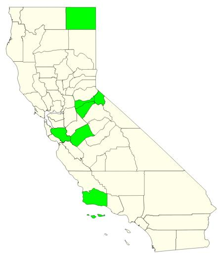Counties of California (JetPunk)