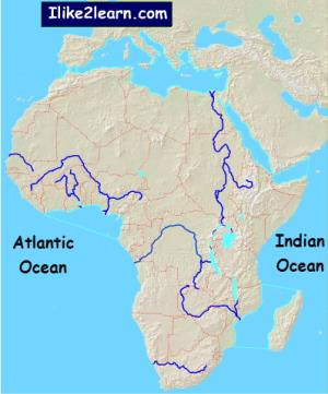 Rivers of Africa. Ilike2learn